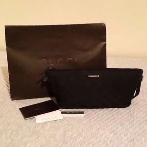 Gucci vintage black baguette bag